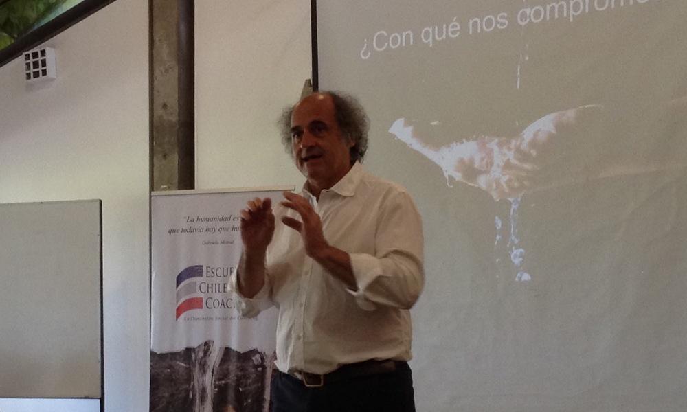 Antonio Moya coaching de equipos escuela chilena de coaching